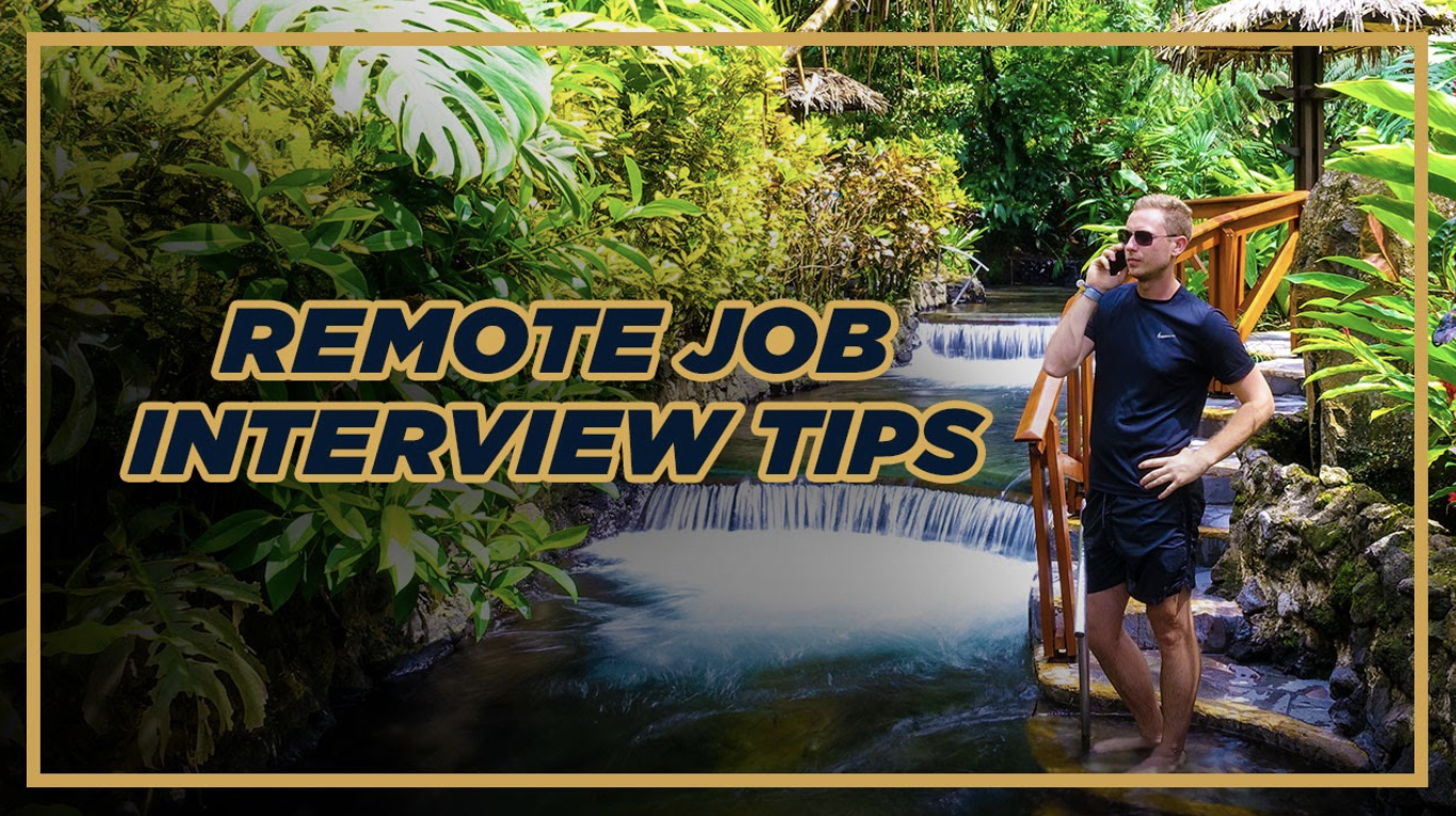 Remote Job Interview Tips for a Perfect Video Interview